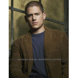 Prison Break S3 Michael Scofield Brown Jacket