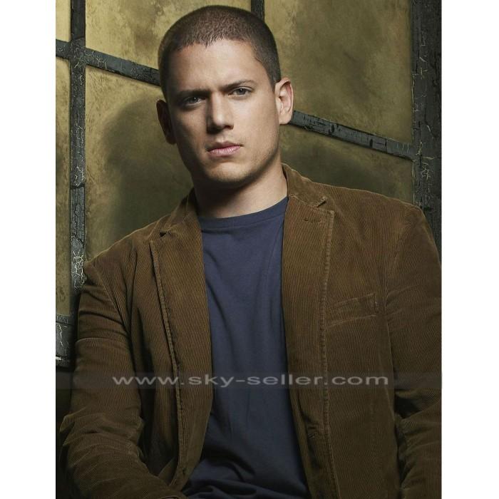 Prison Break S3 Michael Scofield Brown Jacket