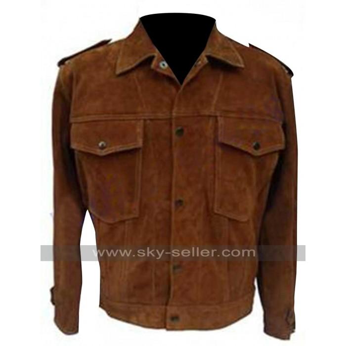 Rubber Soul John Lennon Suede Leather Jacket