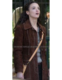 The Walk Annie Allix (Charlotte) Brown Suede Jacket