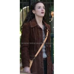 The Walk Annie Allix (Charlotte) Brown Suede Jacket