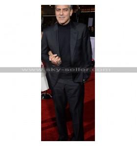 Hail Caesar Premiere George Clooney Black Suit