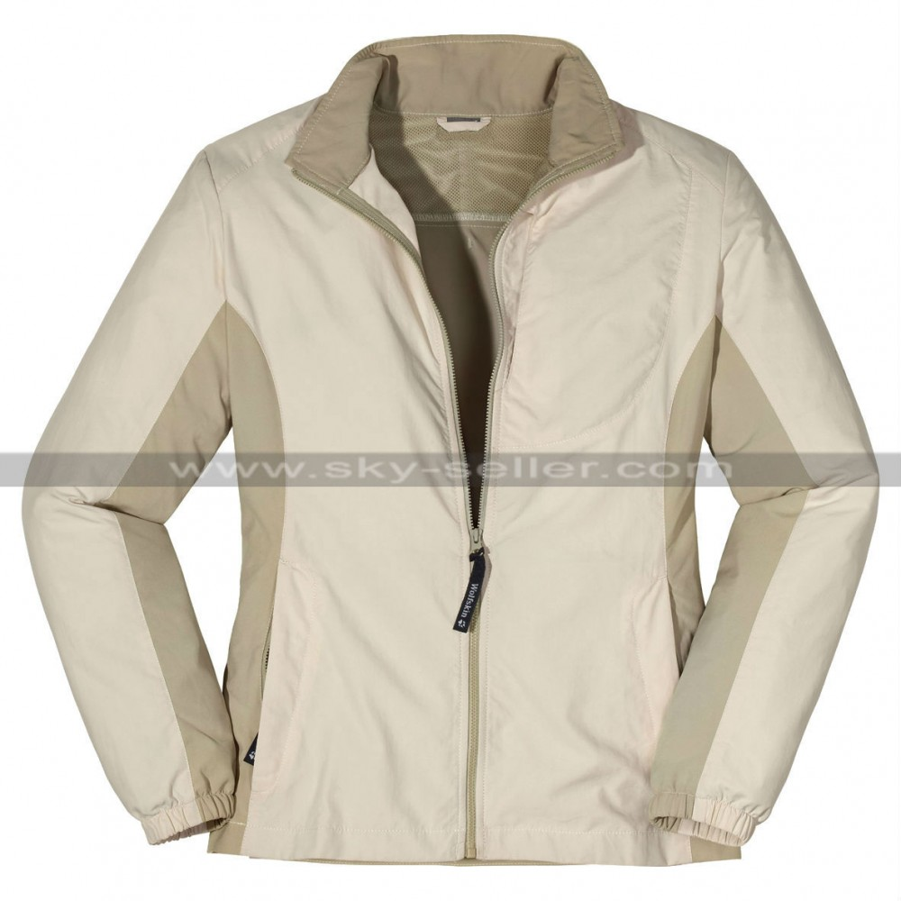 Women Ivory Summer Light Mojave Jacket