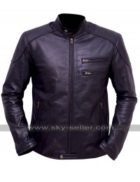 Breaking Bad Jesse Pinkman (Aaron Paul) Black Biker Jacket