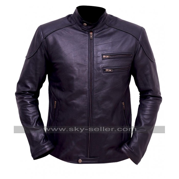 Breaking Bad Jesse Pinkman (Aaron Paul) Black Biker Jacket