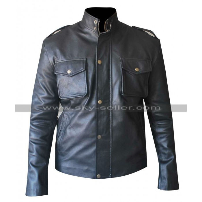 Aaron Paul Breaking Bad S4 Jesse Pinkman Leather Jacket