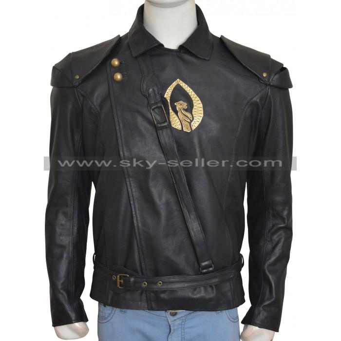 Shannara Chronicles Ander Elessedil Dragon Leather Jacket