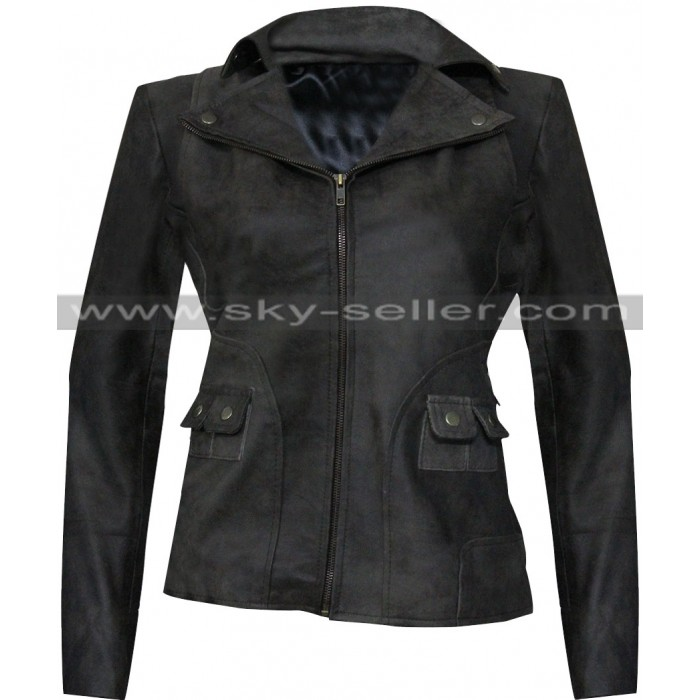 Ani Bezzerides True Detective S2 Leather Jacket