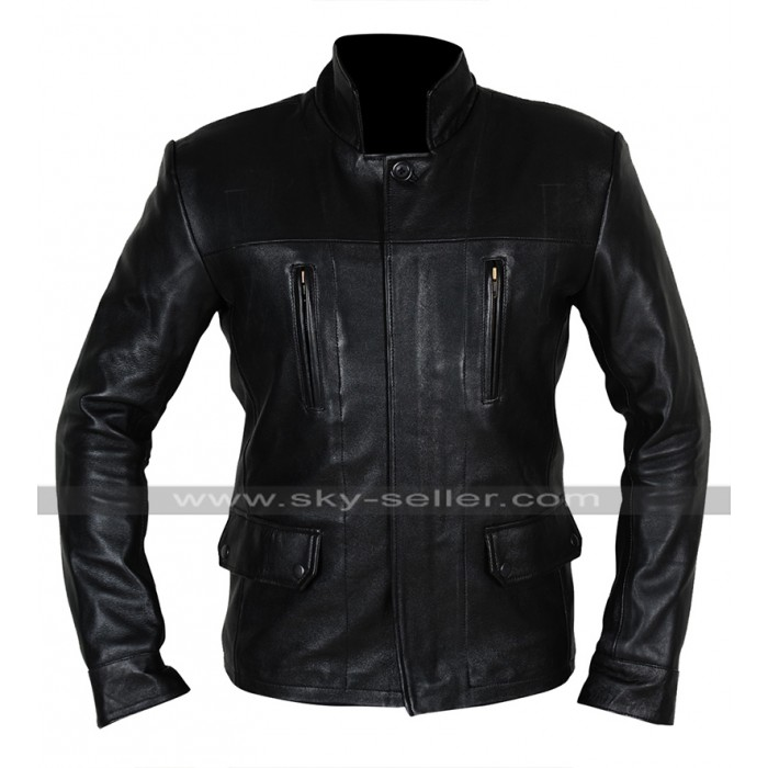 Dark Matter Anthony Lemke (Marcus Boone) Three Black Leather Jacket