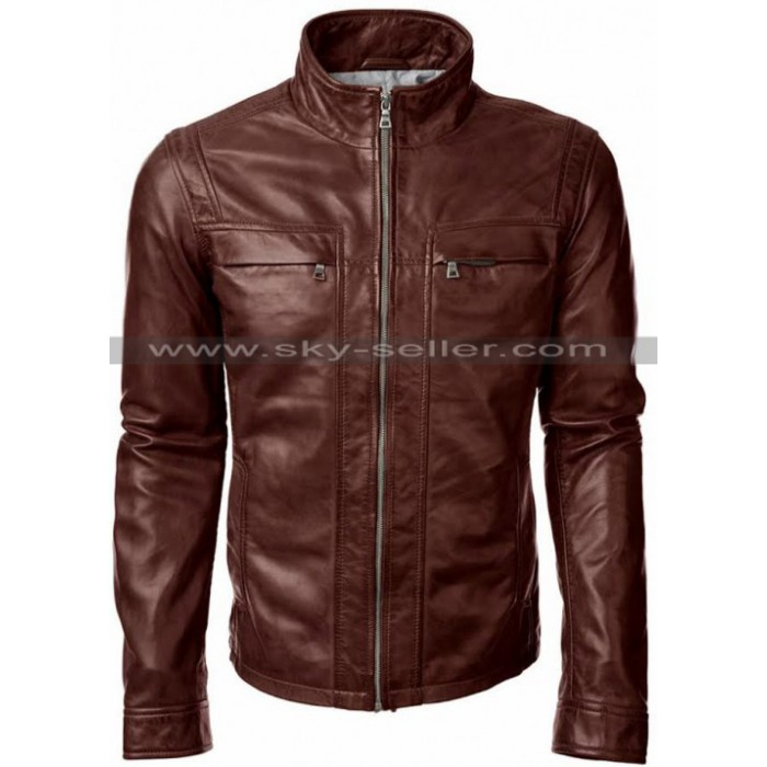 Arrow S5 David Ramsey (John Diggle) Leather Jacket