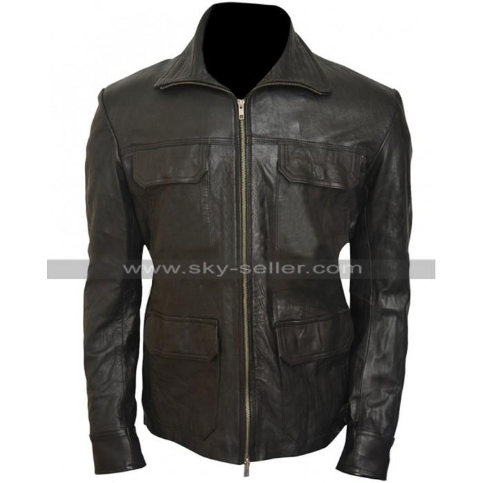Breaking Bad SO4 Aaron Paul Black Jacket