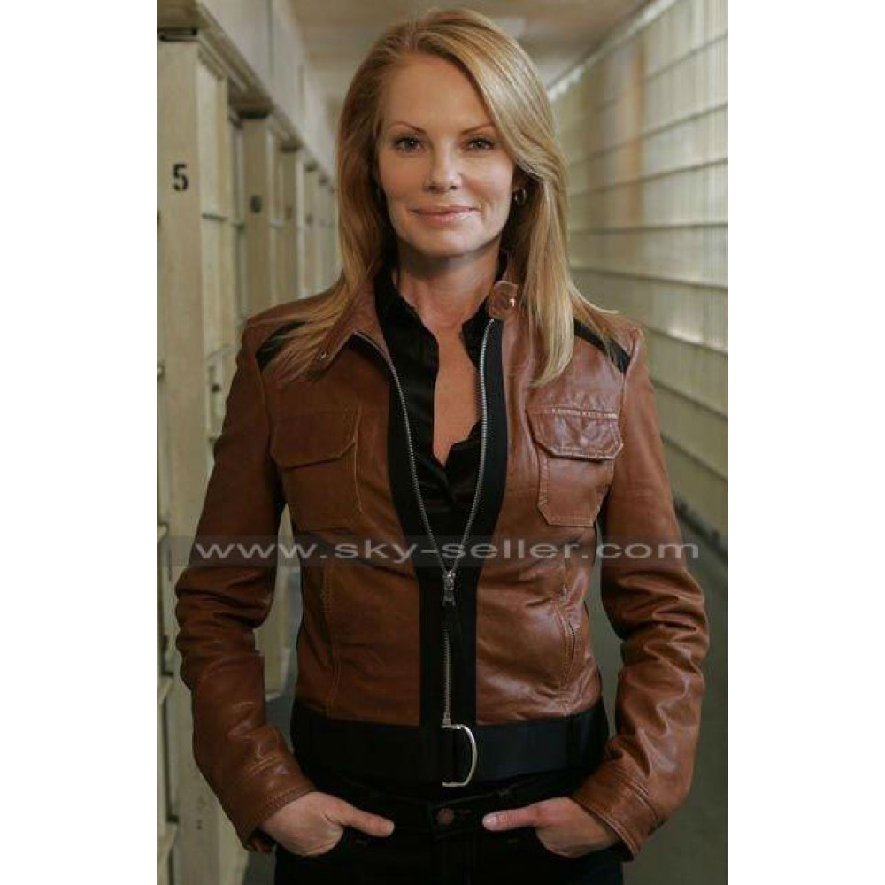 CSI Crime Scene Investigation Mark Helgenberger Brown Jacket