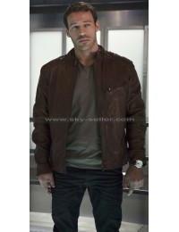 Carter Hall Flash S2 Hawkman Leather Jacket
