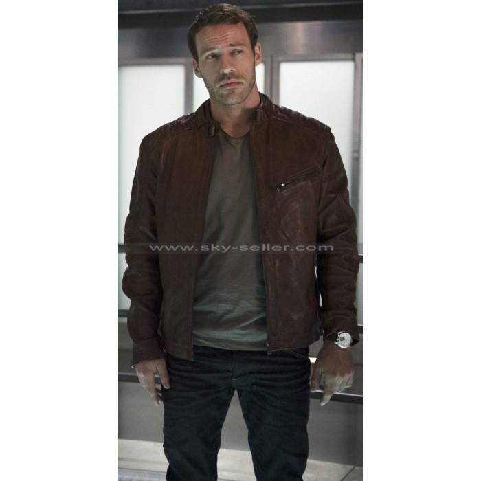 Carter Hall Flash S2 Hawkman Leather Jacket
