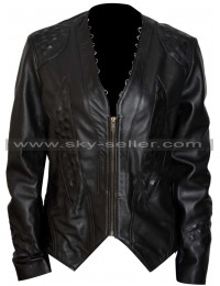 Dark Matter Melissa O'Neil Studded Black Jacket