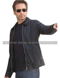 David Duchovny Californication S6 Black Jacket