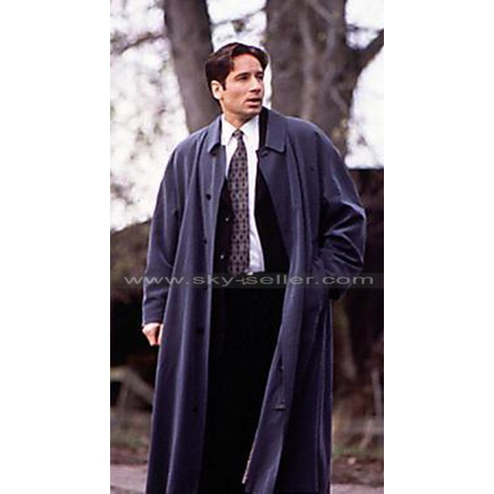 Fox Mulder The X-Files David Duchovny Blue Coat