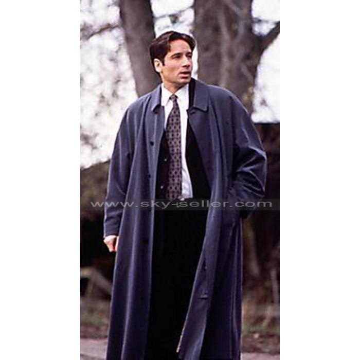 Fox Mulder The X-Files David Duchovny Blue Coat