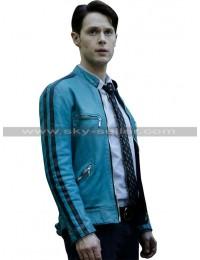 Samuel Barnett (Dirk Gently) Holistic Detective Agency Motorcycle Jacket