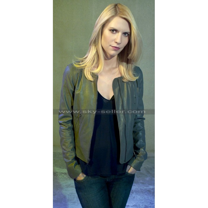 Homeland Agent Carrie Mathison (Claire Danes) Leather Jackets