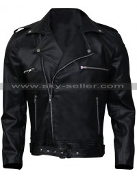 Walking Dead Jeffrey Dean Morgan Black Leather Jacket