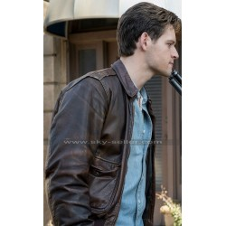 Joe Blake The Man in the High Castle Luke Kleintank Brown Jacket