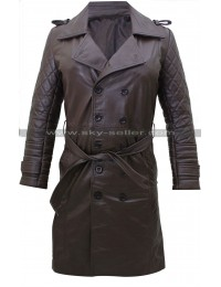 Kate Beckett Castle Quilted Trench Coat