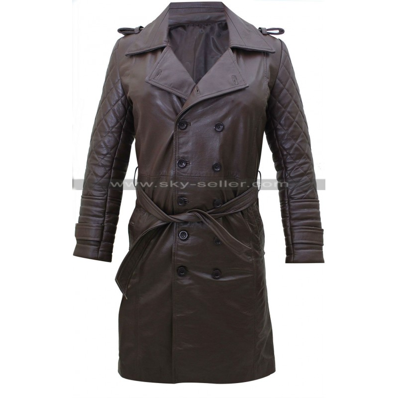 Beckett Castle Quilted Trench Coat : quilted castle - Adamdwight.com