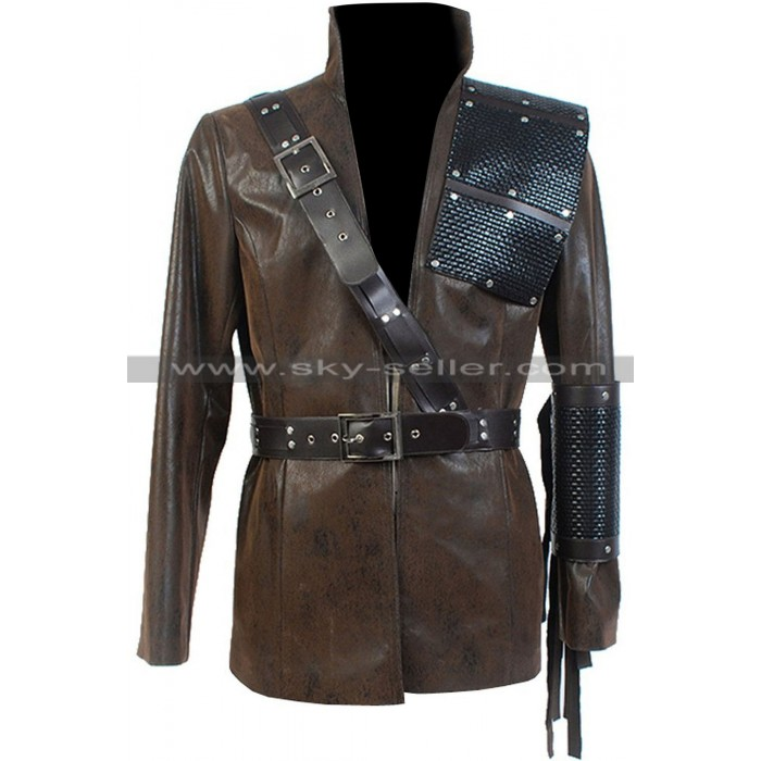 Malcolm Merlyn (Dark Archer) Arrow Brown Leather Jacket