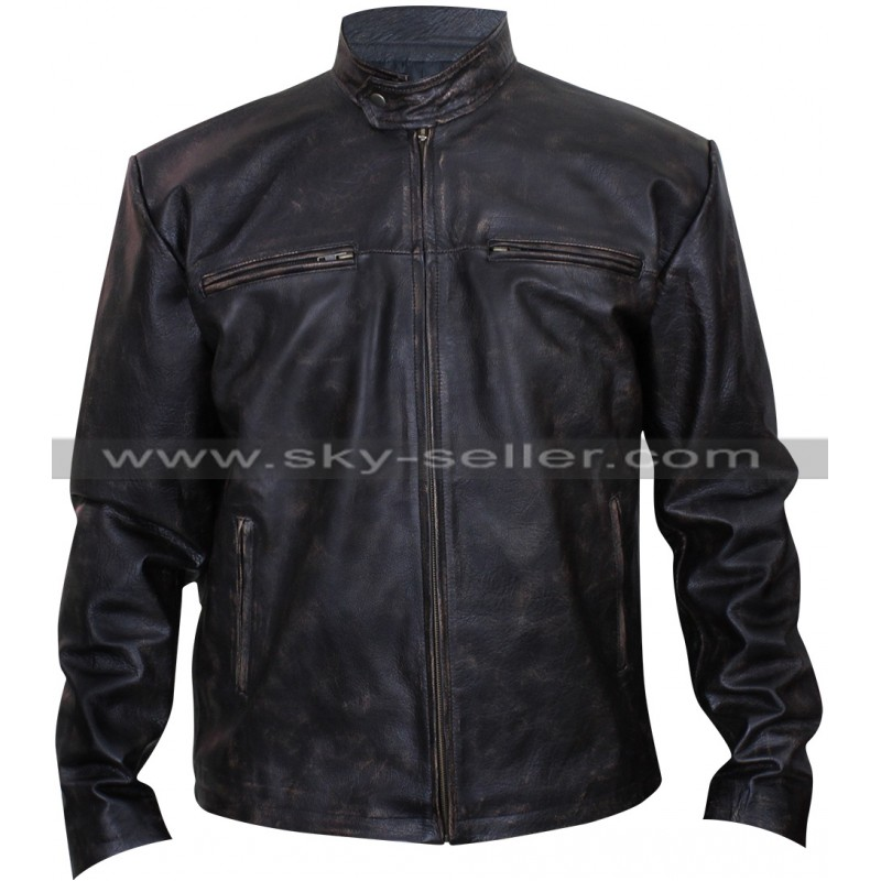 Vic mackey leather jacket