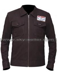 Mr Robot Christian Slater Brown Jacket