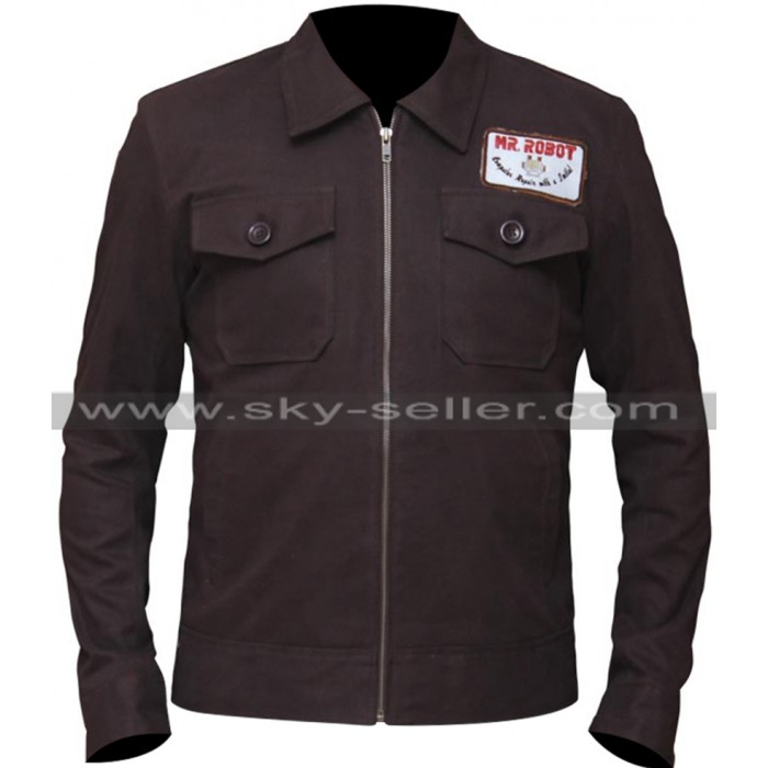 Mr Robot Christian Slater Brown Jacket