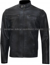 NCIS Los Angeles Chris O'Donnell Black Leather Jacket