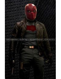 Nightwing Series Noel Schefflin (Red Hood) Biker Jacket