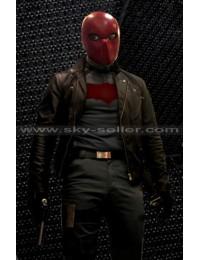 Nightwing Series Noel Schefflin (Red Hood) Biker Jacket