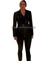 Chloe Bennet Agents of Shield Skye Johnson Black Jacket