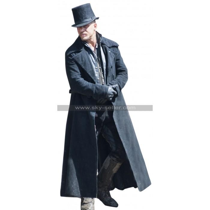 Taboo Tom Hardy (James Keziah Delaney) Fur Collar Trench Coat