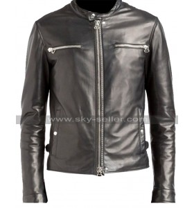 The Defenders Luke Cage (Mike Colter) Black Leather Jacket