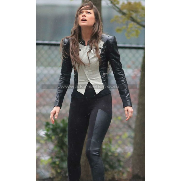 The Tomorrow People Peyton List (Cara Coburn) Leather Jacket