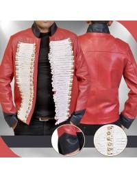 Captain John Hart Torchwood Red Leather Jacket
