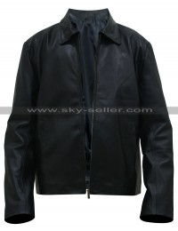 Vic Mackey Shield Michael Chiklis Black Leather Jacket