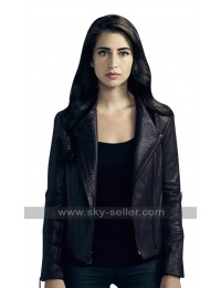 TV Series Beyond Dilan Gwyn (Willa) Lapel Collar Black Leather Jacket