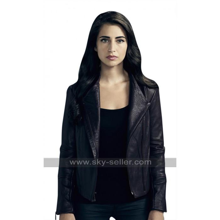 TV Series Beyond Dilan Gwyn (Willa) Lapel Collar Black Leather Jacket