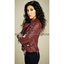 Rosa Diaz Brooklyn 99 Stephanie Beartriz Leather Jacket