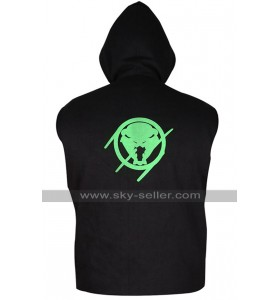 WWE Wrestler Randy Orton RKO Hoodie Fleece Black Vest