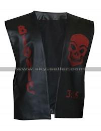 Stone Cold Steve Austin Broken Skull Leather Vest
