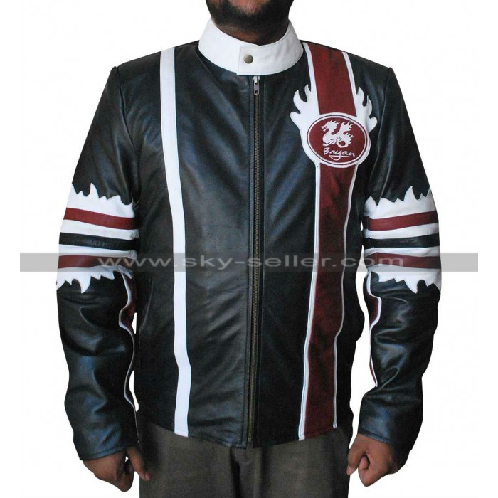 WWE Daniel Bryan Dragon Leather Jacket