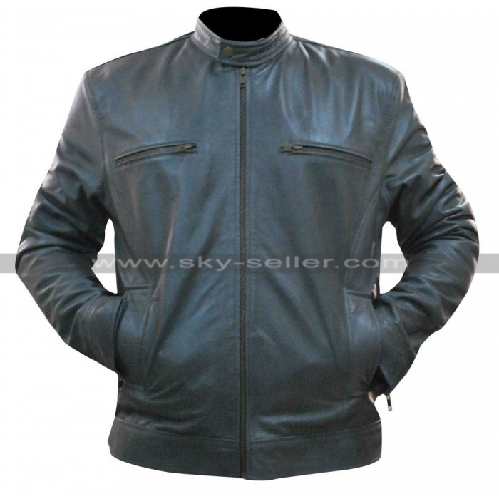 WWE Dean Ambrose Jonathan Grey Leather Jacket