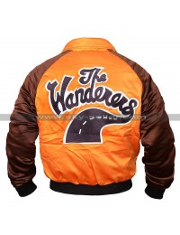 The Wanderers Movie Ken Wahl Varsity Satin Jacket