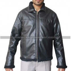 Dave Bautista House of the Rising Sun Ray Fur Jacket